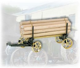 Wilesco Lumber Wagon Black/Brass A426  £60.00